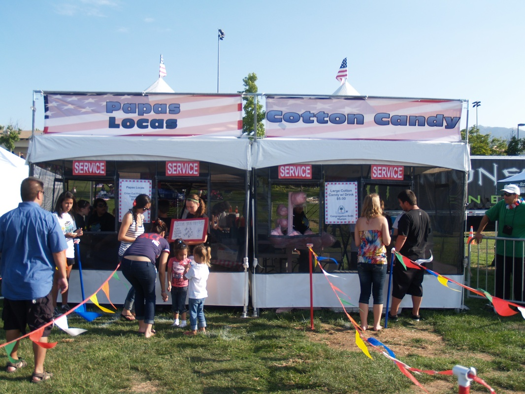 Tent Concession At A Large Event