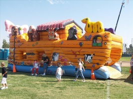 Noahs Ark Obstacle Course