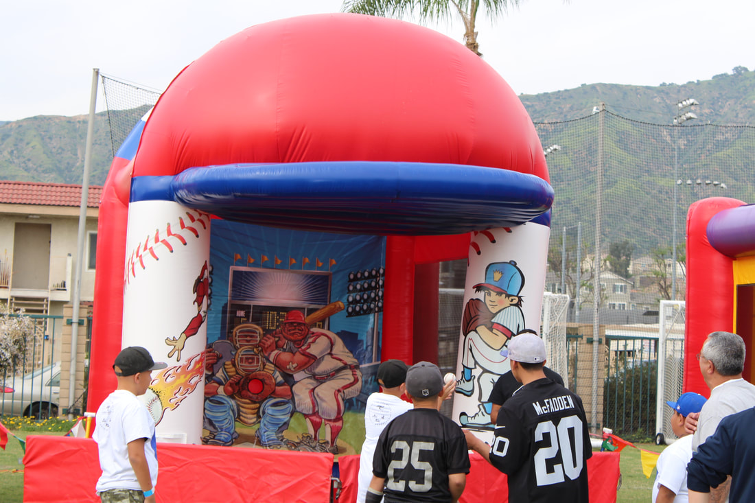Fast Pitch Baseball Inflatable
