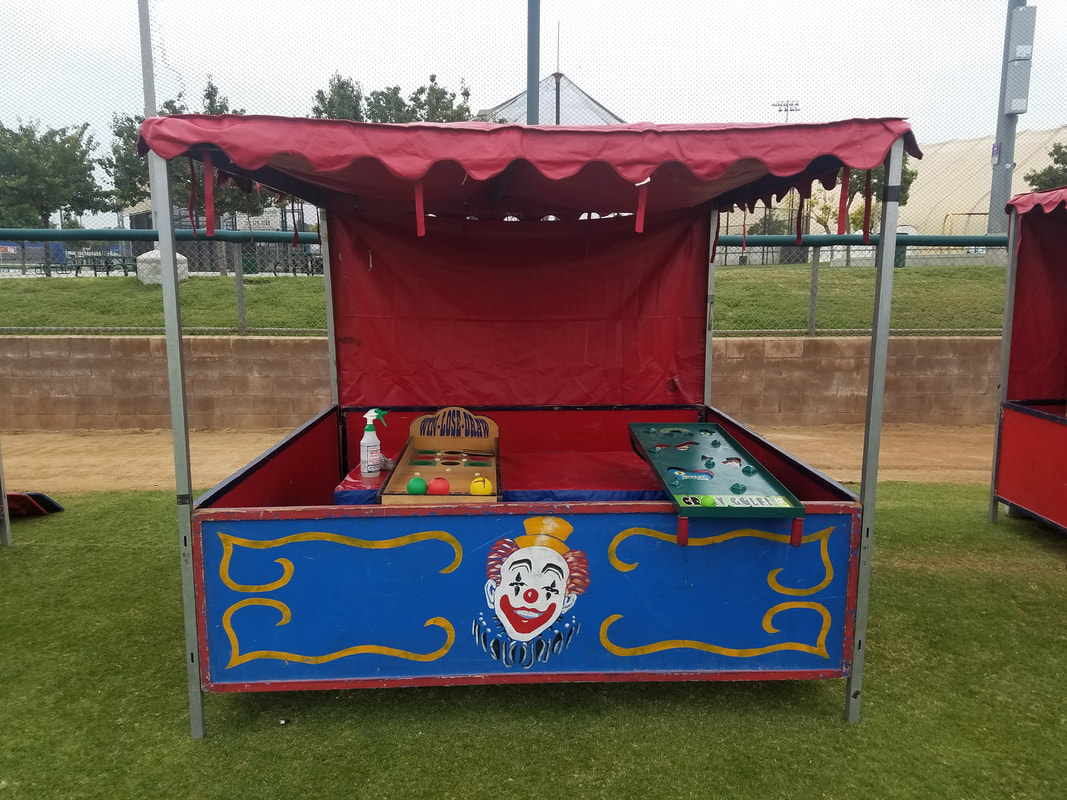 Carnival Games for Corporate Events Pitcher Roller Ball Games