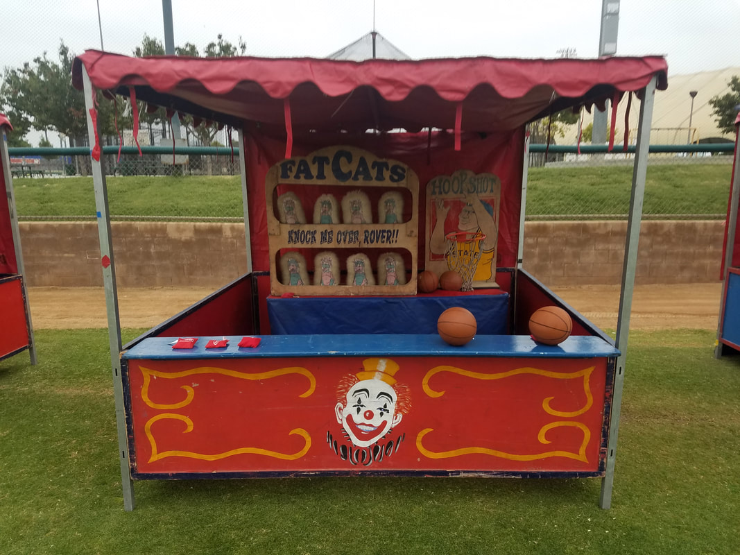 Carnival Games for Corporate Events Fat Cats and Hoop Shot