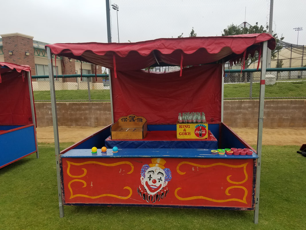 Carnival Games for Corporate Events Ring a Coke and Tic Tac Toe Toss