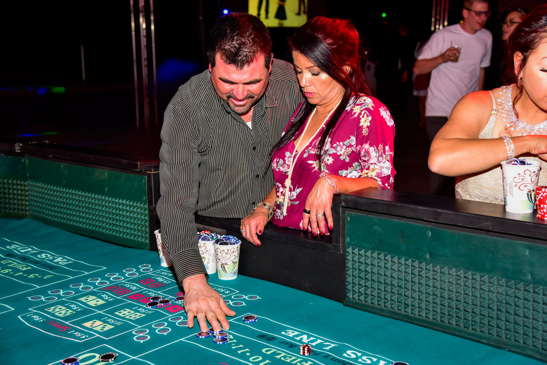 Corporate Event Planner Casino Party