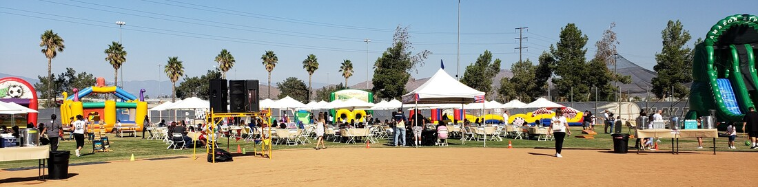 Company Picnic Planners Jurupa Valley CA - Big League Dreams Venue Mira Loma
