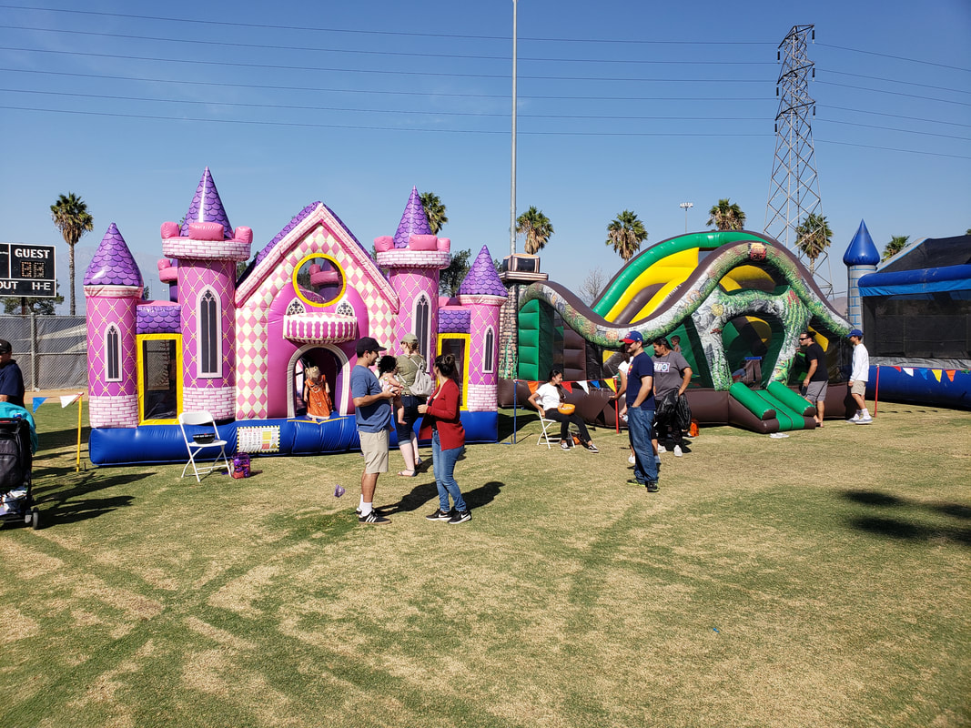 Playcenters & Bouncer Rentals for Company Picnics