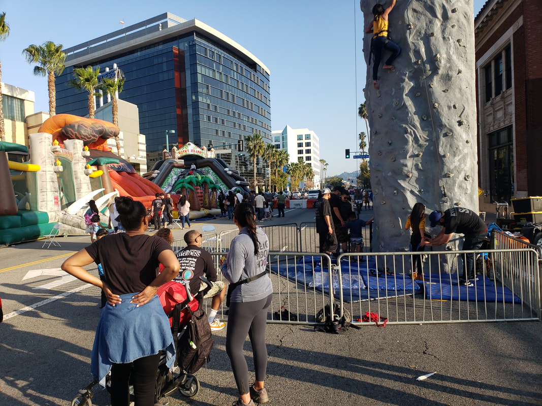 Vegan Street Fair Rides and Inflatables