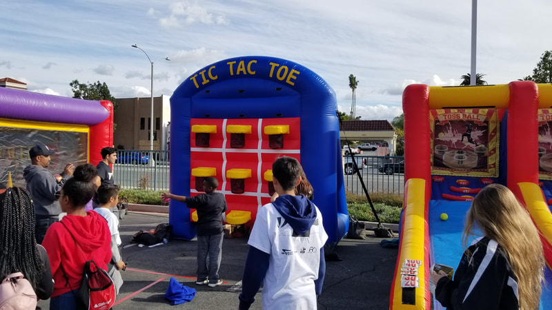 inflatable game rentals for corporate events