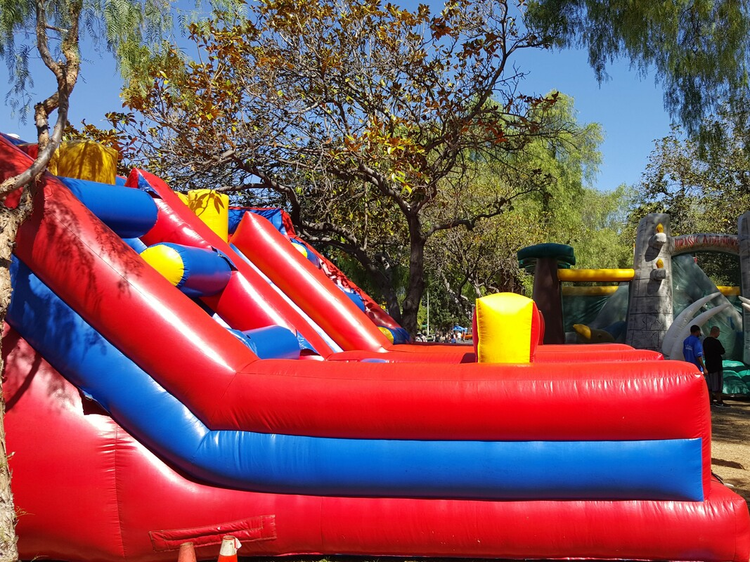 Double Jeopardy Inflatable Obstacle Course