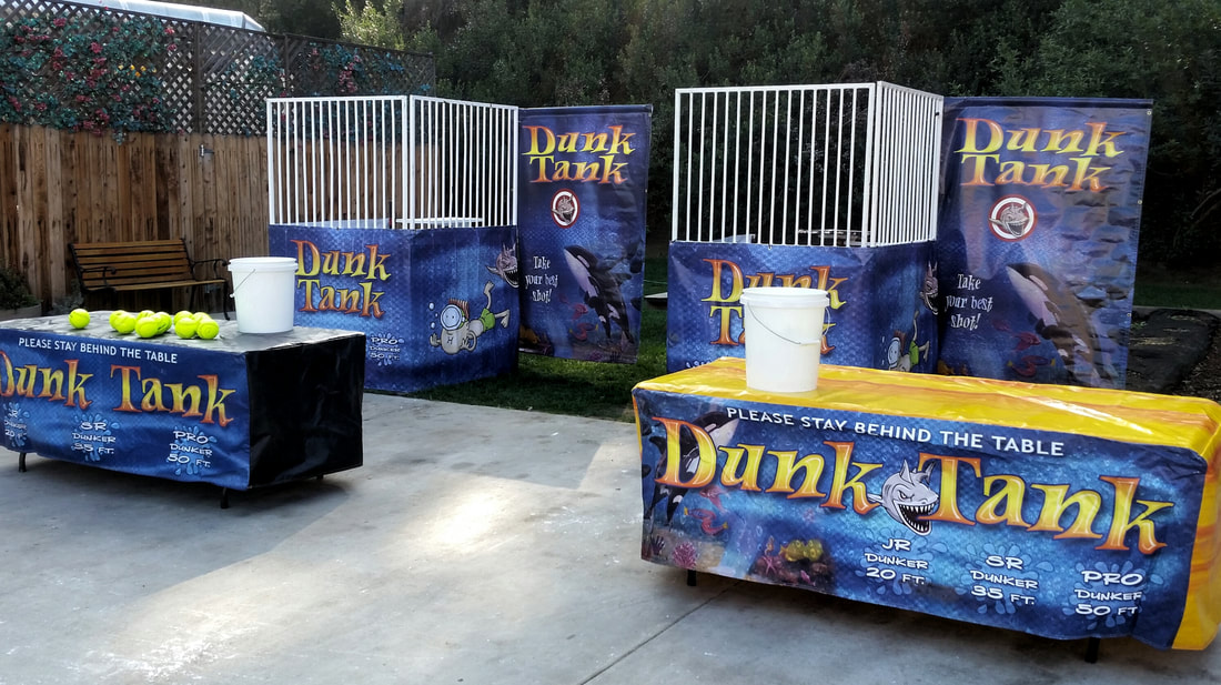 Dunk Tank Rentals for Corporate Events and Company Picnics