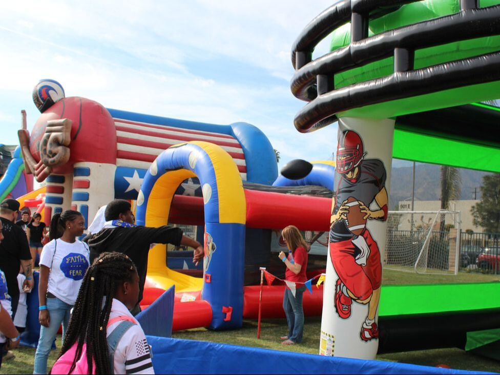 Sports Inflatable Games Rentals Riverside California