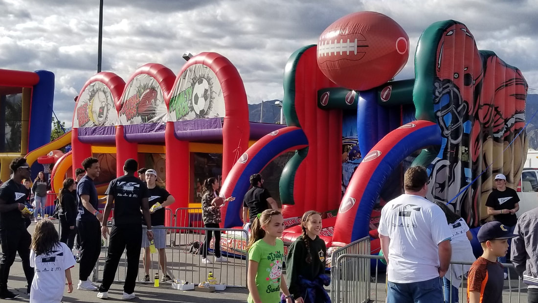 Interactive Inflatable Games (Football)
