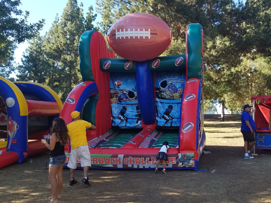 Football Inflatable Game Rentals Los Angeles
