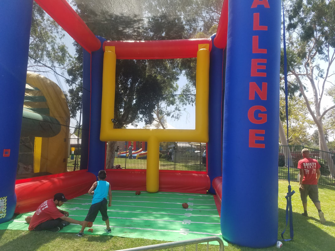 Field Goal Challenge Football Inflatable for Corporate Events