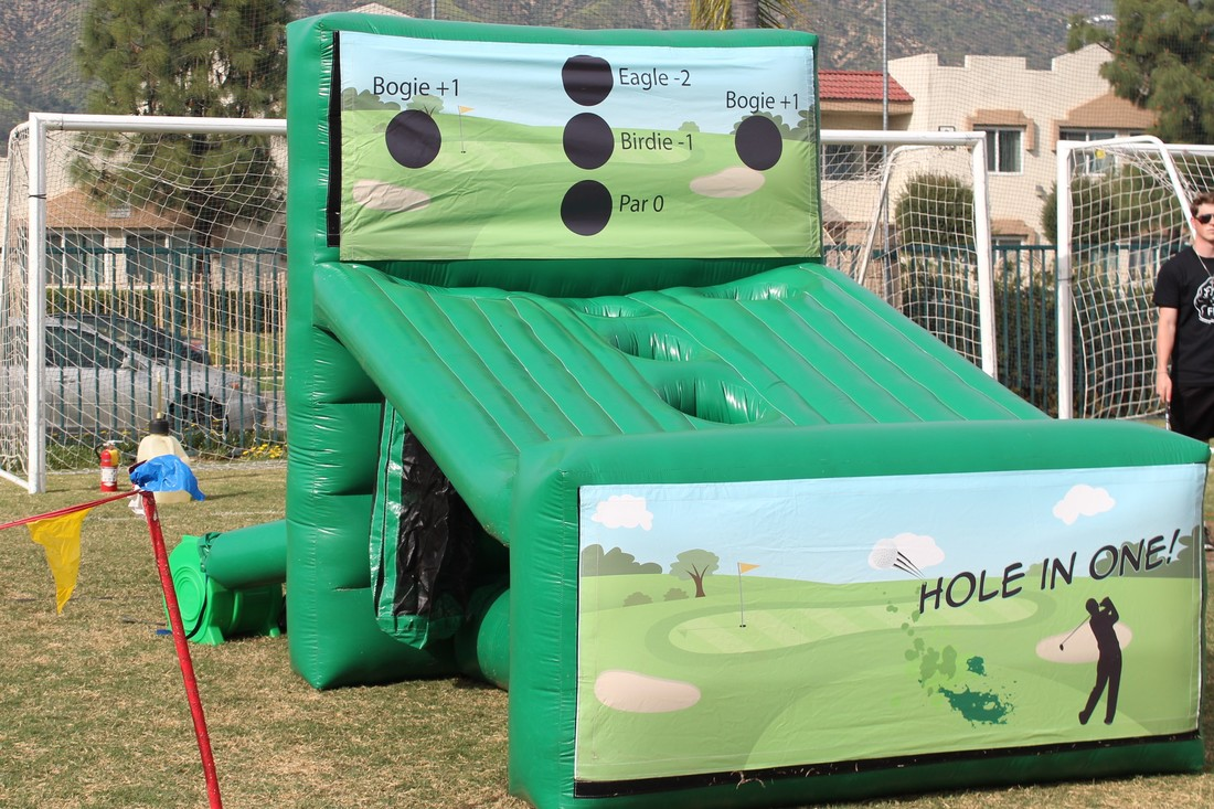 Hole In One Golf Inflatable Rental