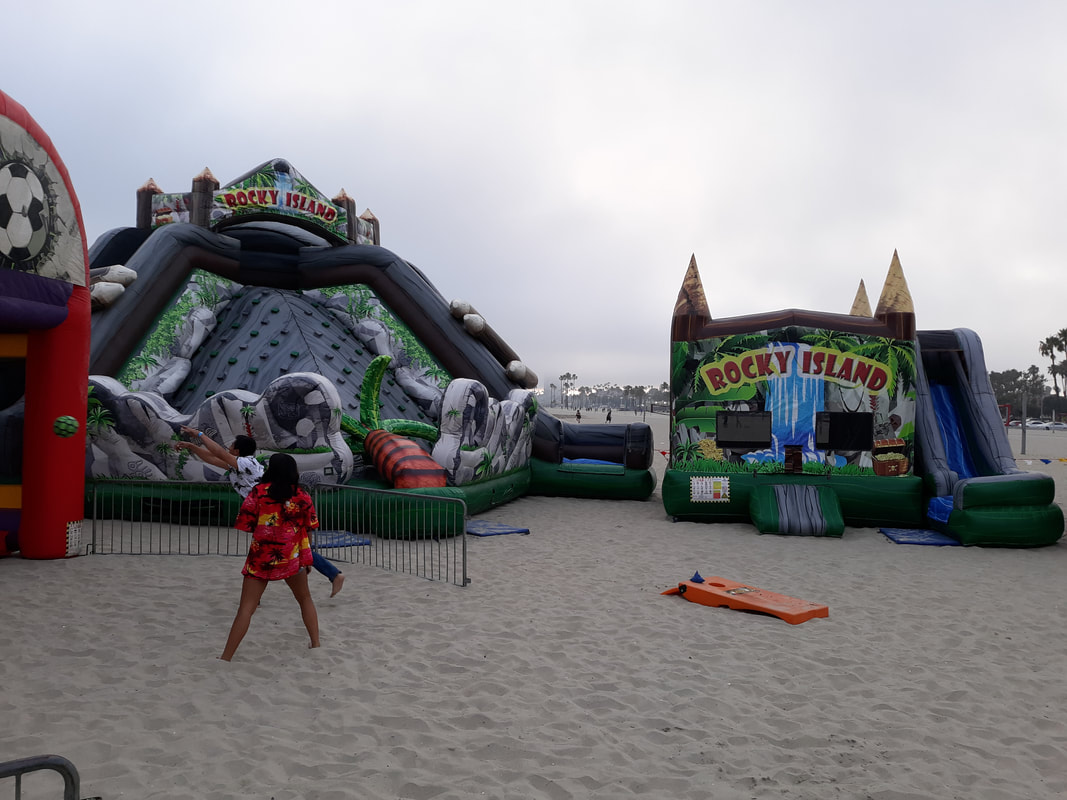 Long Beach Company Picnic Activities