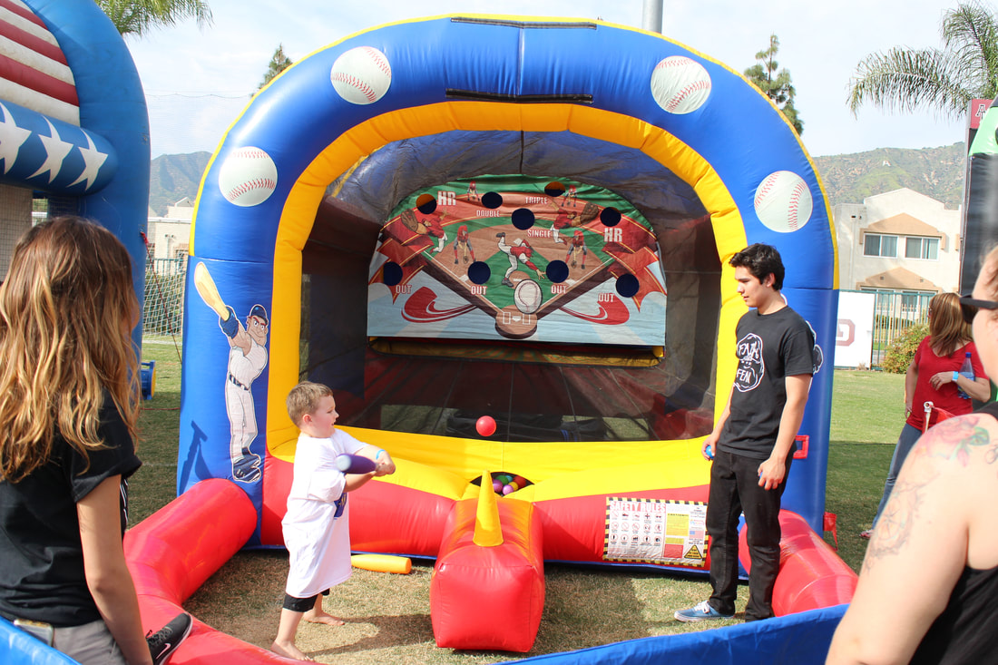 Home Run Derby Baseball Inflatable Rental