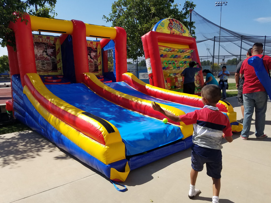 Inflatable Game Rentals Riverside California