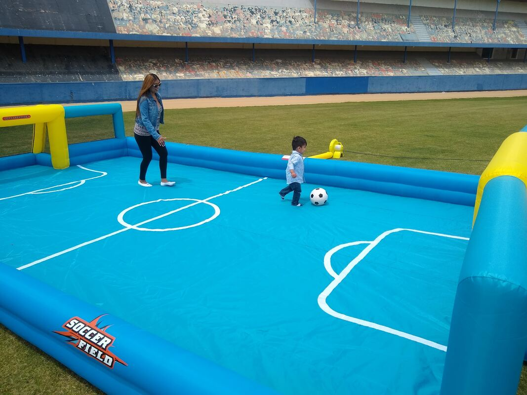 Inflatable Soccer Field for Little Kids