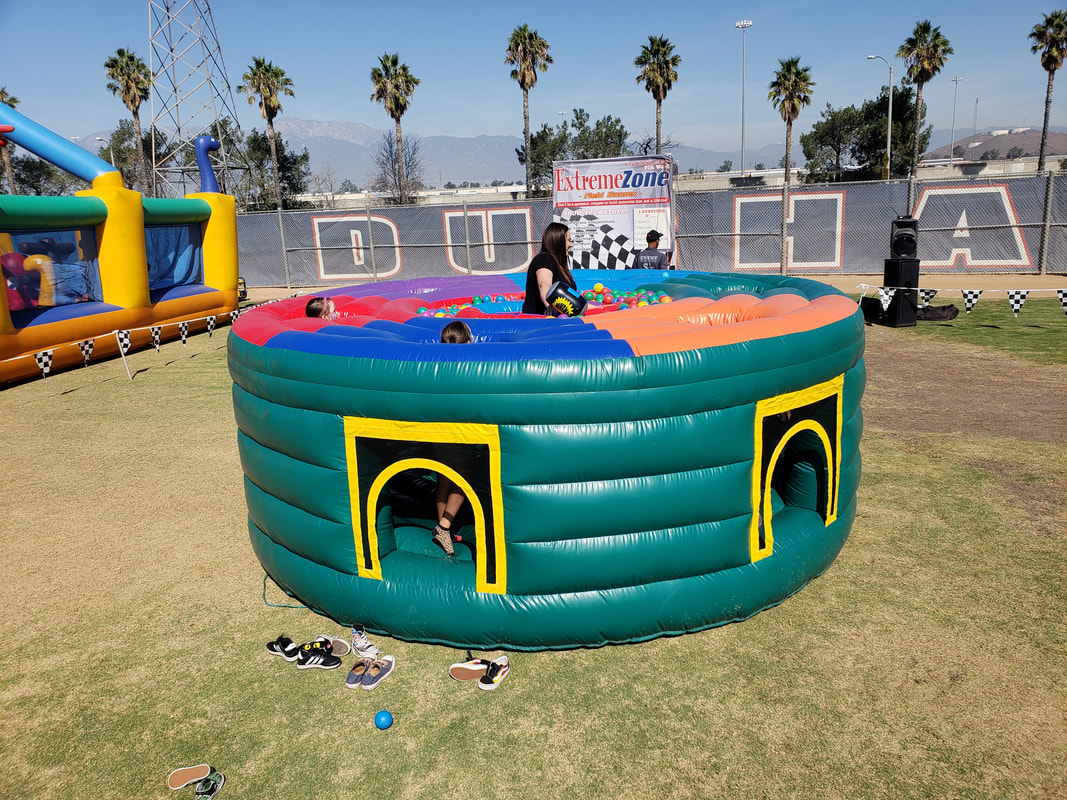 inflatable whack-a-mole game