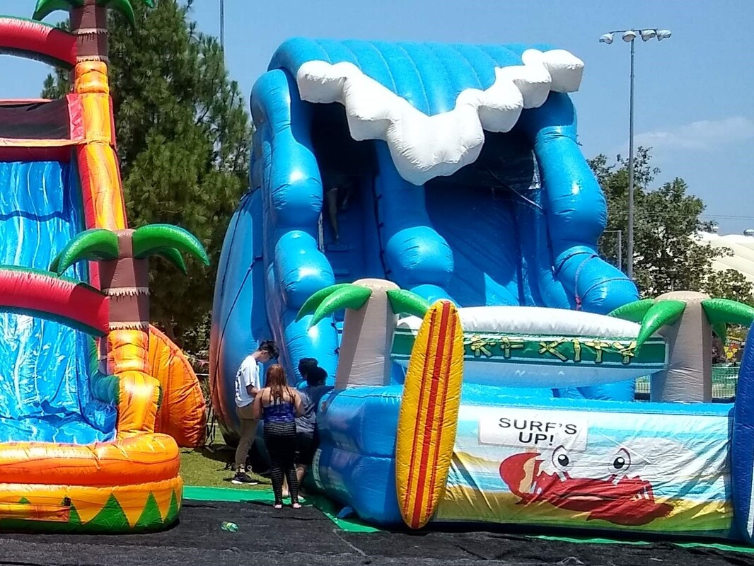 Portable Waterpark Rentals Riverside CA