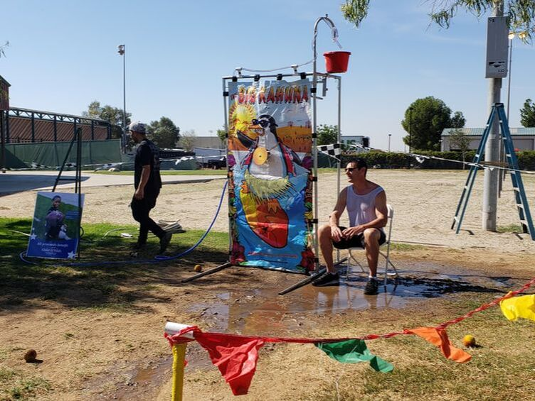 dunk tank company picnics mira loma big league dreams