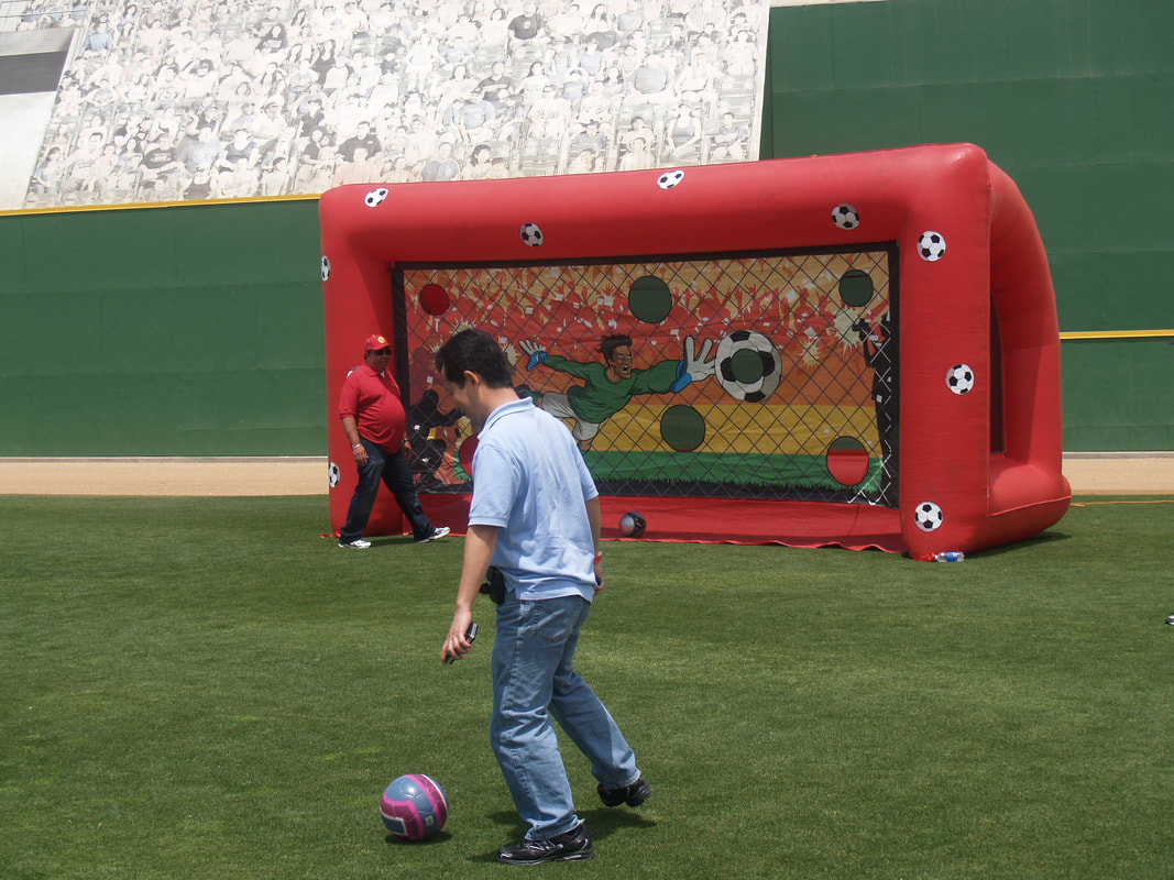 Soccer Inflatable Game Rentals Los Angeles