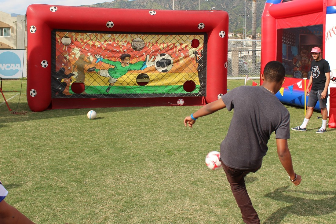 Penalty Kick Challenge Soccer Inflatable