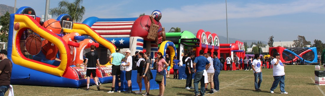 Sports Themed Inflatables Rentals in Southern California