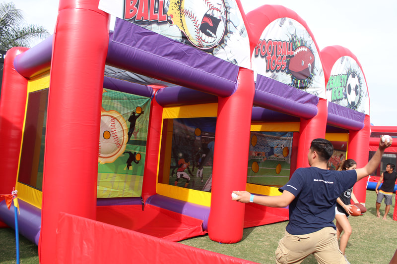 3-in-1 Sports Inflatable Rentals