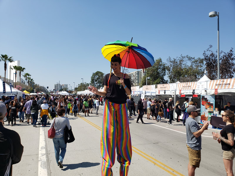 Stilt Walker North Hollywood
