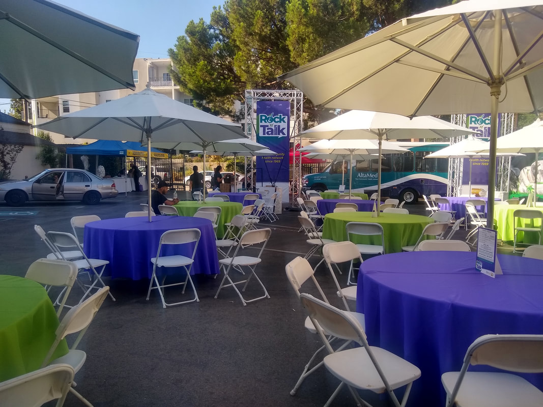 Downtown Los Angeles Event Rental Company