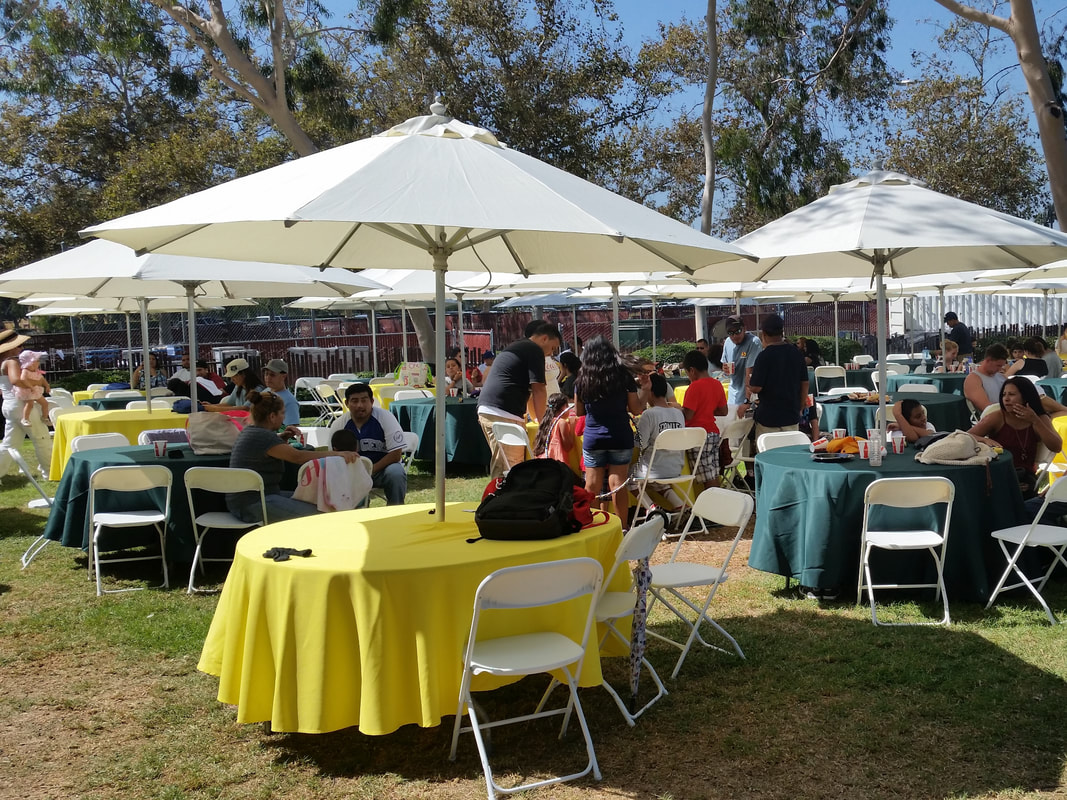 Tables and Chairs Outdoor Event Rentals Chino Hills California