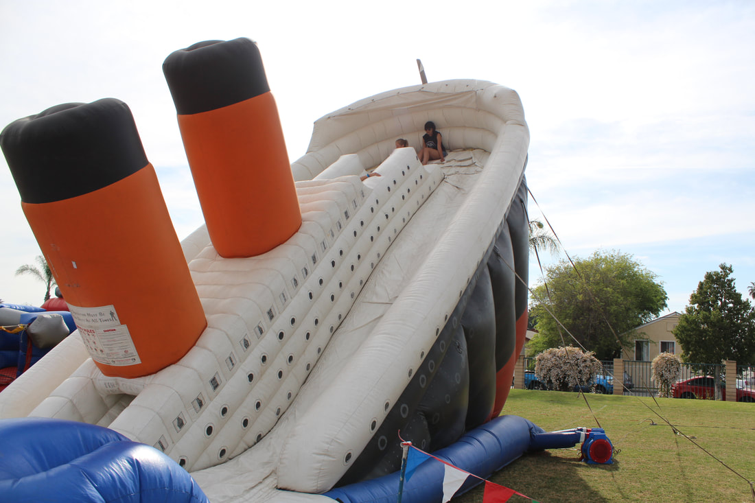 Titanic Inflatable Slide Rental