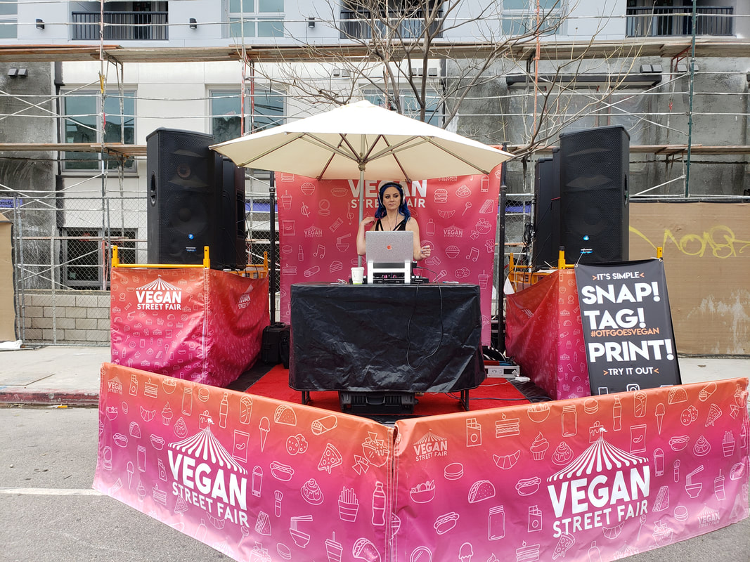 Vegan Street Fair Event Planning Services Los Angeles