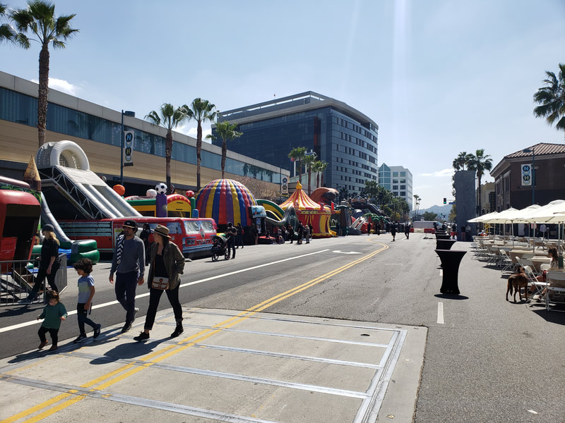 Vegan Street Fair North Hollywood View
