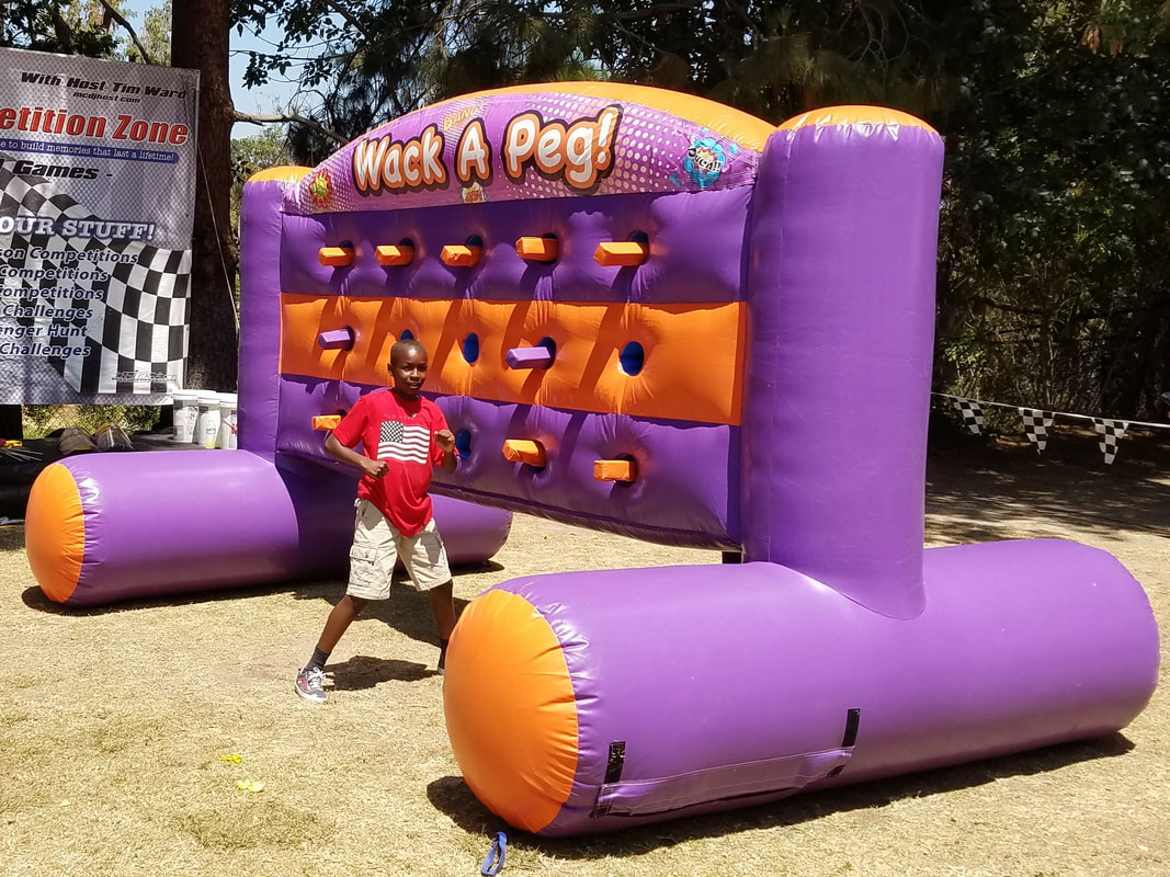 Whack A Peg Inflatable Game for Corporate Events