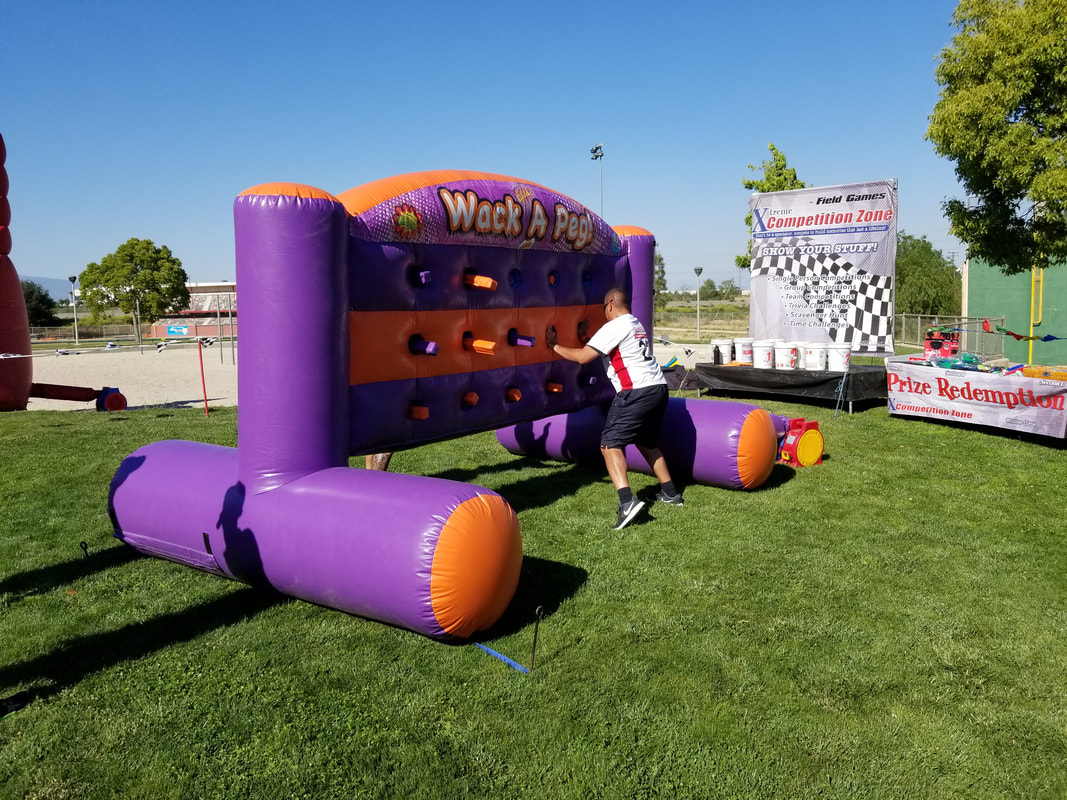 Company Picnic Inflatable Games For Adults - Whack A Peg Inflatable Rental