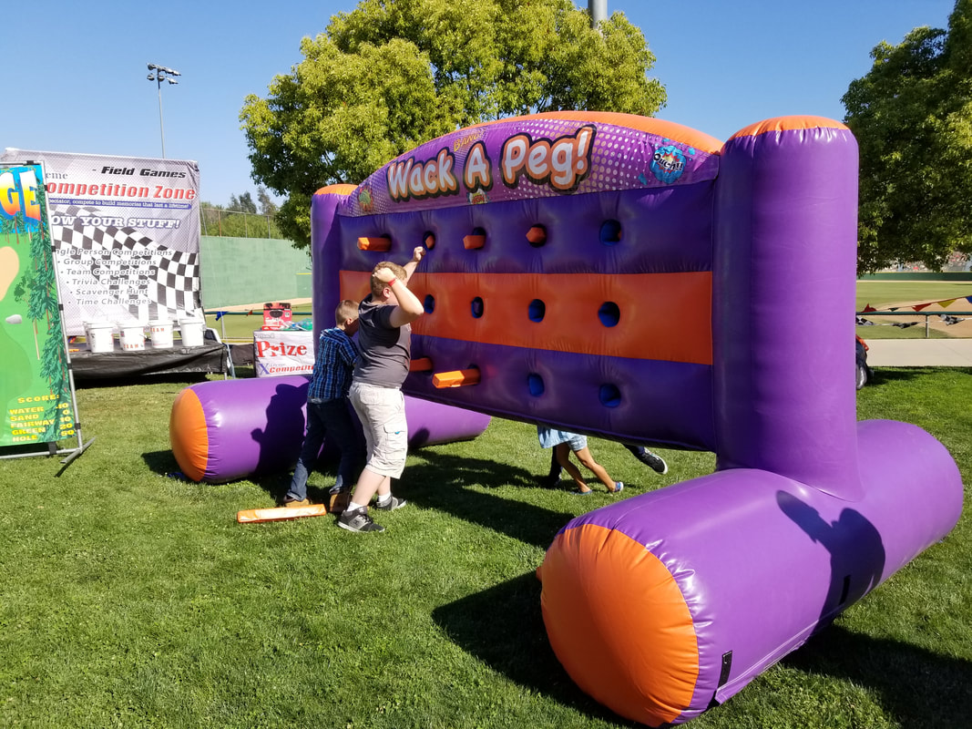 Whack A Peg Inflatable Rental For Company Picnic, School Fun Fairs and Corporate Events